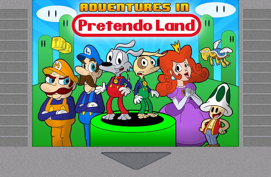 Adventures in Pretendo Land!